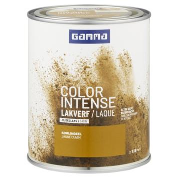 GAMMA color intense binnenlak zijdeglans 750 ml komijngeel
