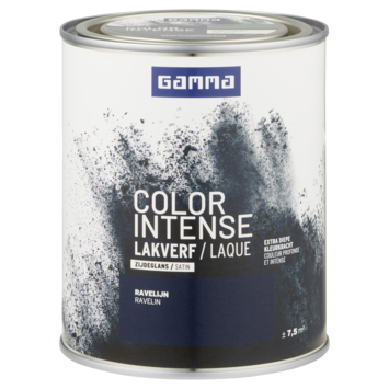 GAMMA color intense binnenlak zijdeglans 750 ml ravelijn