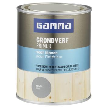 GAMMA grondverf voor binnen 750 ml grijs