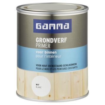GAMMA grondverf voor binnen 750 ml wit