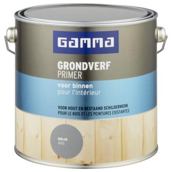 GAMMA grondverf voor binnen 2,5 L grijs