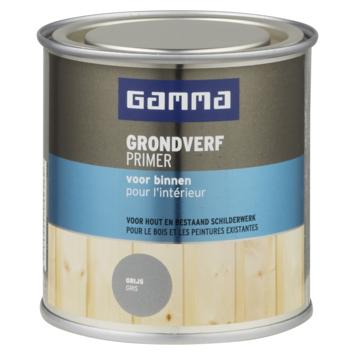 GAMMA grondverf voor binnen 250 ml grijs