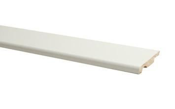 Plint Model MDF Vanille 1 x 5,8 x 240 cm