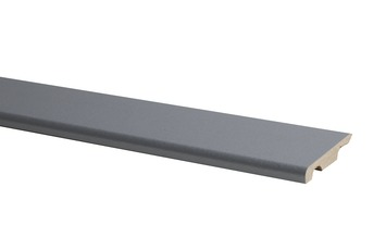 Plint Model MDF Zilver Grijs 1 x 5,8 x 240 cm