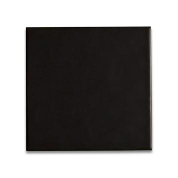 Vloertegel Amadora Zwart 15x15 cm 0,5 m²