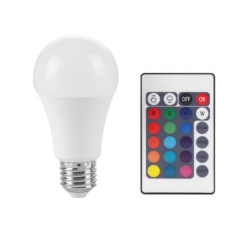 Handson color E27 LED lichtbron incl. afstandsbediening