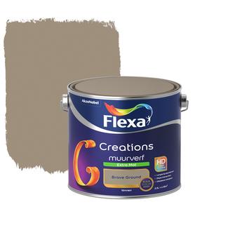 Flexa Creations muurverf extra mat Brave Ground 2,5 liter