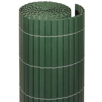 Balkonscherm pvc groen 90x300 cm