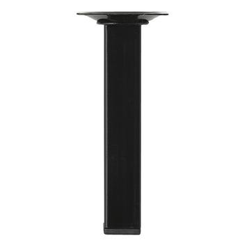 Inspirations meubelpoot vierkant zwart Ø 25 mm 10 cm