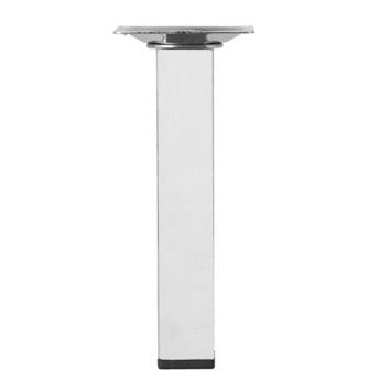 Inspirations meubelpoot vierkant chroom Ø 25 mm 15 cm