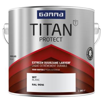 GAMMA Titan buitenlak hoogglans 2,5 liter RAL 9016