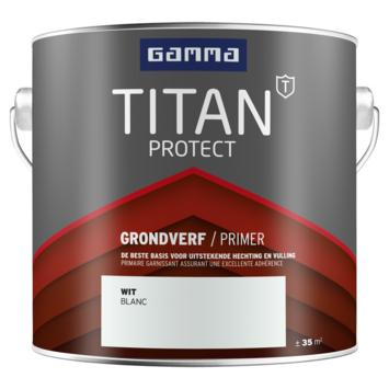 GAMMA Titan buitenlak grondverf 2,5 liter wit