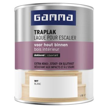 GAMMA traplak zijdeglans 750 ml wit