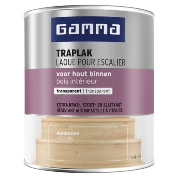 GAMMA traplak kleurloos zijdeglans 750 ml