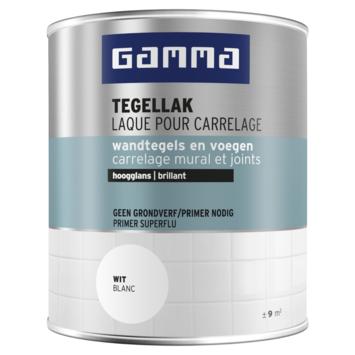 GAMMA Tegellak hoogglans 750 ml Gebroken wit