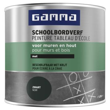 GAMMA schoolbordverf mat zwart 250 ml