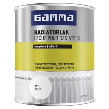 GAMMA radiatorlak hoogglans wit 750 ml