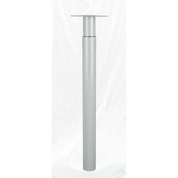 Inspirations meubelpoot Tess verstelbaar grijs 70 - 110 cm