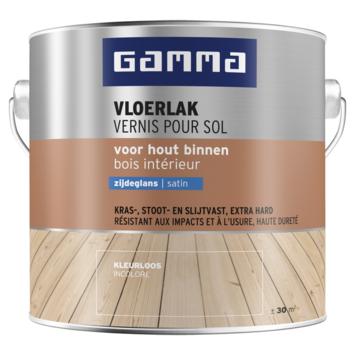 GAMMA vloerlak zijdeglans 2,5 liter kleurloos