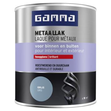 GAMMA Metaallak hoogglans 750 ml RAL7001 zilver grijs