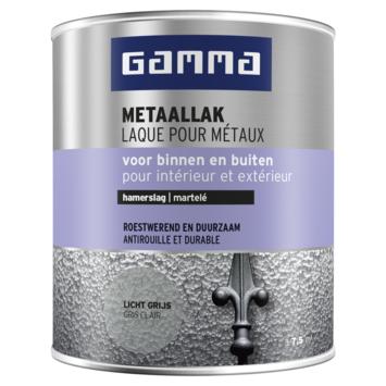GAMMA metaallak hamerslag 750 ml Licht grijs
