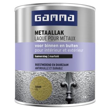 GAMMA metaallak hamerslag 750 ml goud