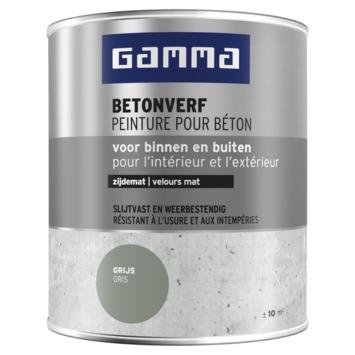 GAMMA betonverf zijdemat grijs 750 ml