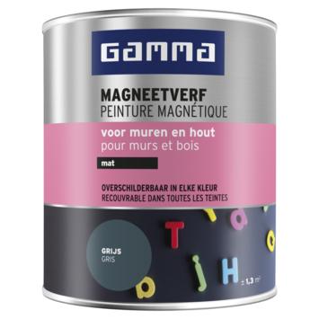 GAMMA magneetverf mat grijs 750 ml