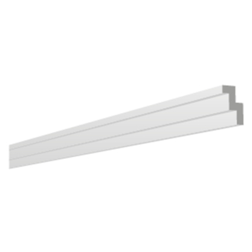 Inspirations plafondlijst / sierlijst Torino 30mm 2 meter