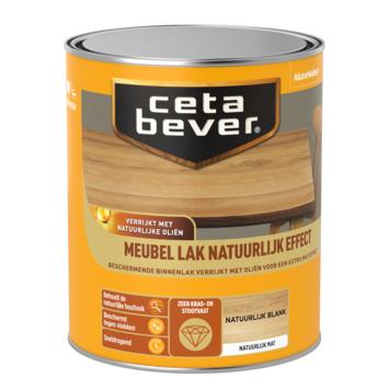 Cetabever meubellak natuurlijk effect blank 750 ml