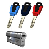 GAMMA veiligheidscilinder 32/47 mm SKG 3-sterren