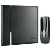 Byron deurbel draadloos zwart