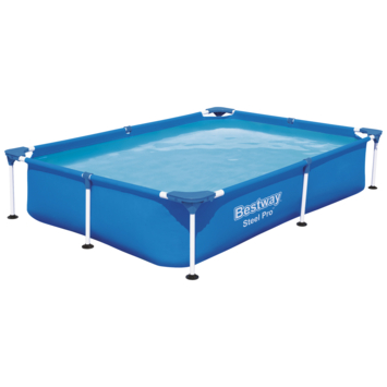 Zwembad Steel Pro rechthoek 221x150x43 cm
