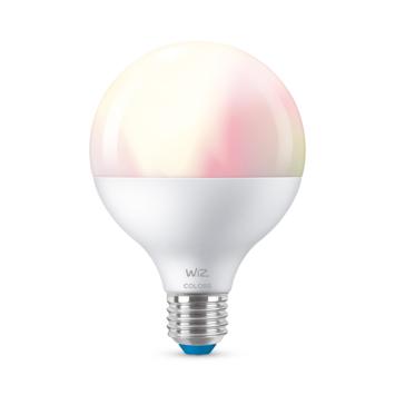 WiZ Connected LED globe E27 75W mat kleur licht dimbaar