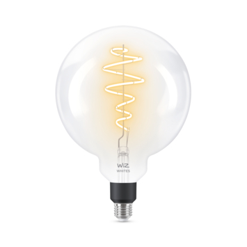 WiZ Connected LED giant globe E27 40W filament helder koel tot warmwit licht dimbaar
