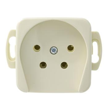 Busch-Jaeger Reflex SI Stopcontact  Telefonie Crème