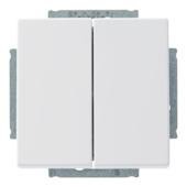 Busch-Jeager Future Linear wissel-wisselschakelaar wit