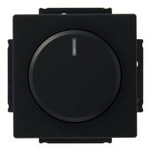 Busch-Jaeger Future Linear dimmer gloei-halogeenlamp 60-600w zwart
