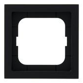 Busch-Jaeger Future Linear afdekraam 1-voudig zwart