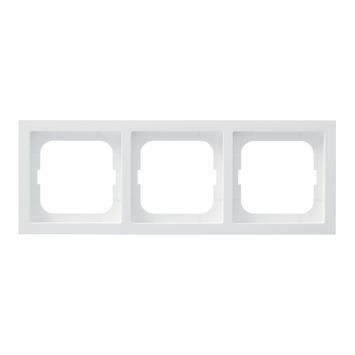 Busch-Jaeger Future Linear Afdekraam 3-voudig Mat Wit