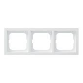 Busch-Jaeger Future Linear afdekraam 3-voudig wit