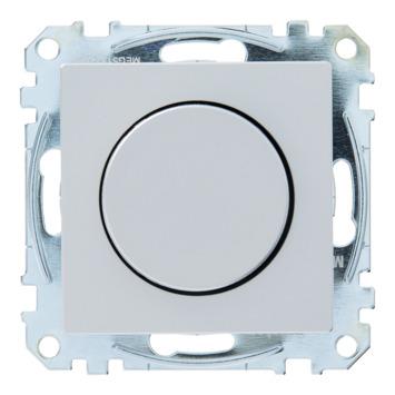 Schneider System dimmer gloei-/halogeenlamp aluminium