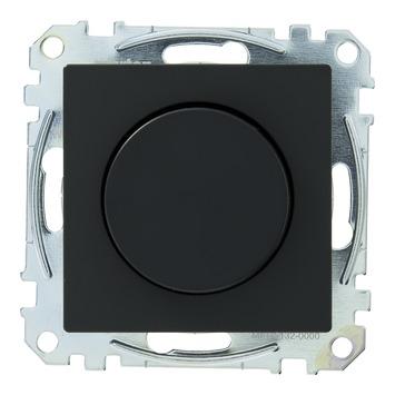 Schneider System dimmer gloei-/halogeenlamp 60-400Watt Antraciet