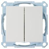 Schneider electric System M serieschakelaar wit