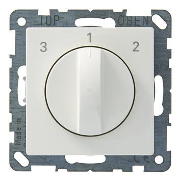 Schneider Electric System ventilatorschakelaar wit