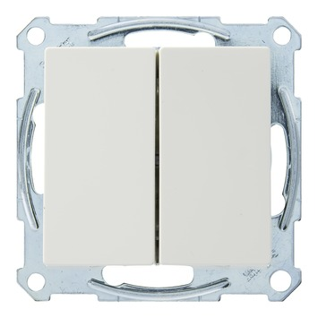 Schneider Electric System wissel-wisselschakelaar wit