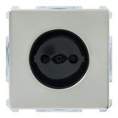 Schneider Electric Artec enkel stopcontact edelstaal