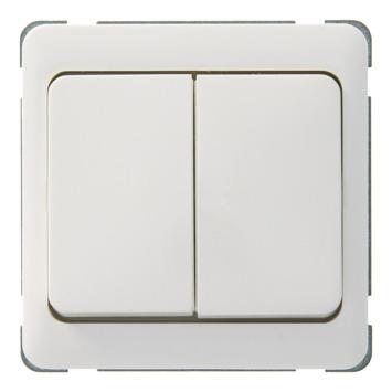 Peha Standard wissel-wisselschakelaar wit