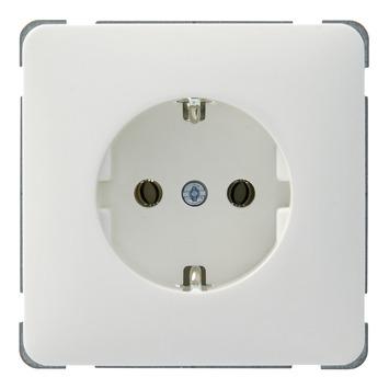 Peha Standard enkel geaard stopcontact wit