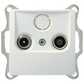 Berker S.1 Stopcontact Coax Wit